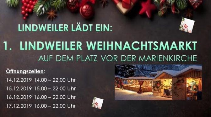 14.-17.12.2019 1. Lindweiler Weihnachtsmarkt